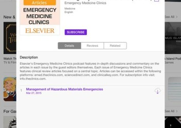 Emergency Medicine Clinics Podcast now available!
